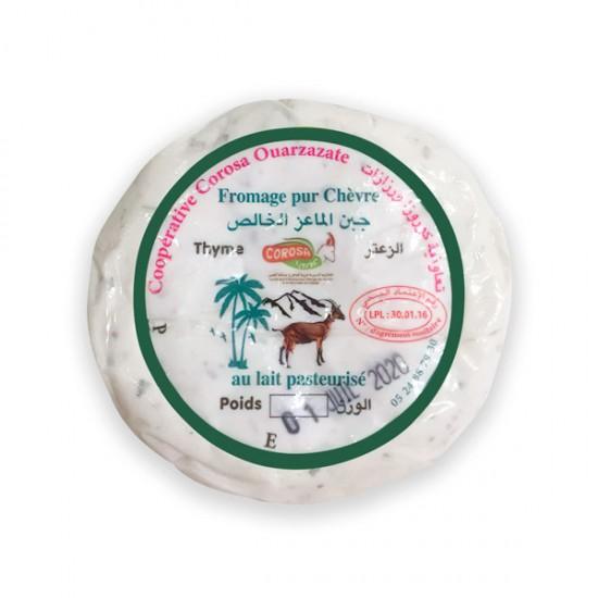 Fromage frais pur chèvre au Thym 100 gr